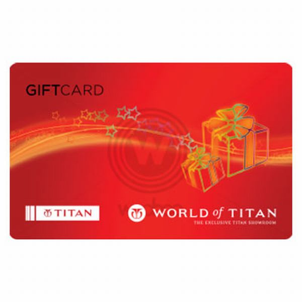 Titan Gift Voucher Rs. 4000