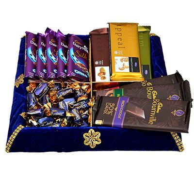 A Royal Chocolate Thali