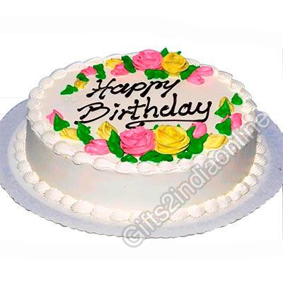 Birthday Pineapple Cake 1 Kg