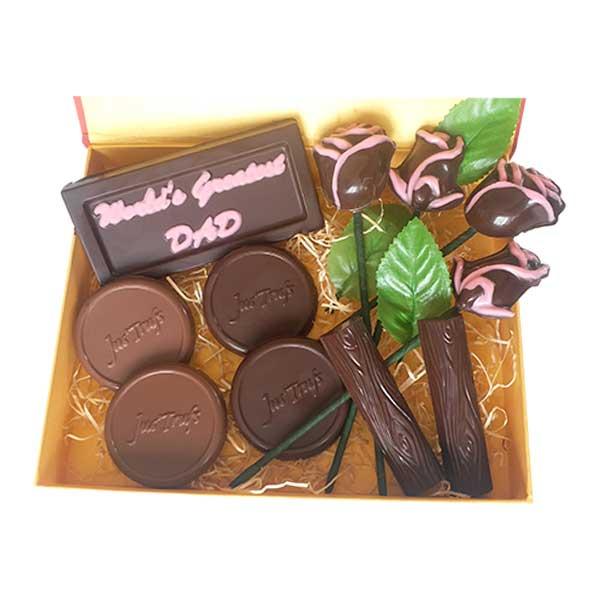 Dad you Deserve the Best Chocolate Hamper