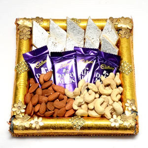 Choco Sweet Nut Tray