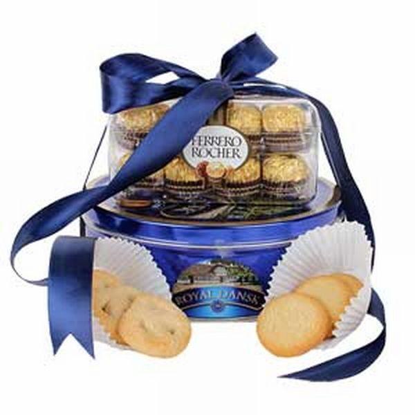 Ferrero Rocher with Cookies