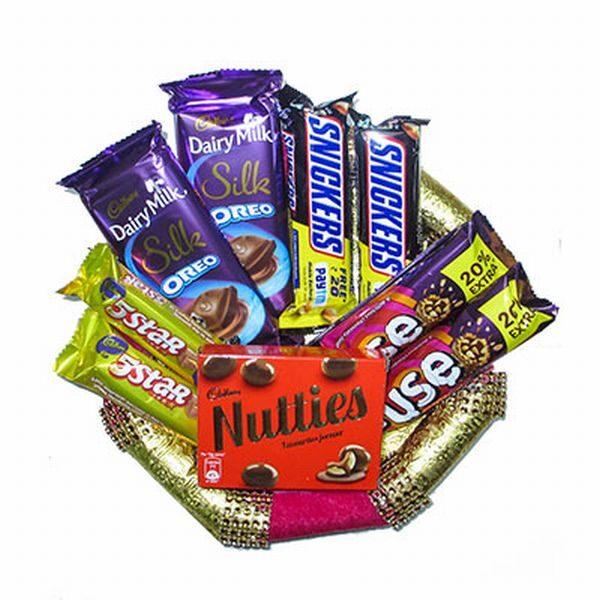 Great Chocolate Thali