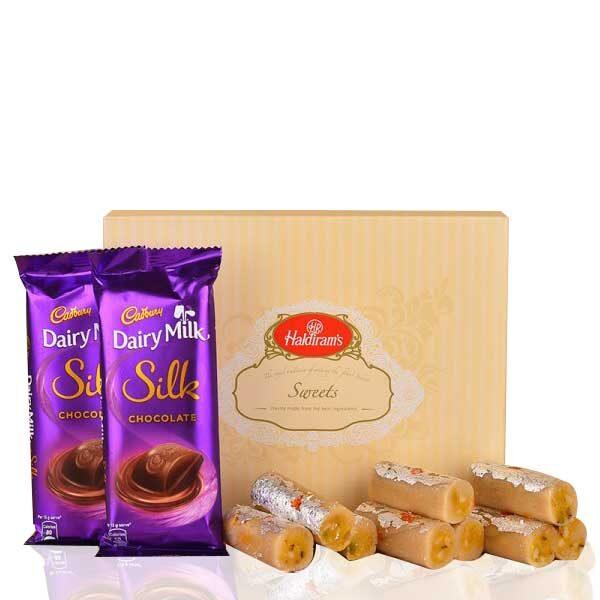 Kaju Roll and Silk Combo