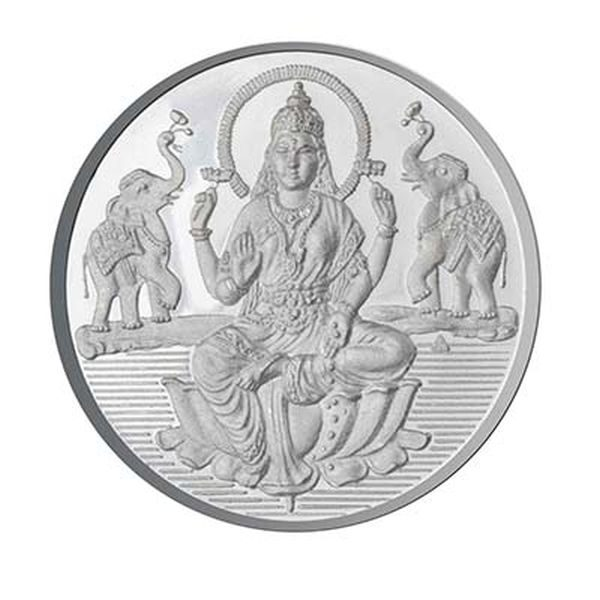 20 Gram Lakshmi Silver Coin
