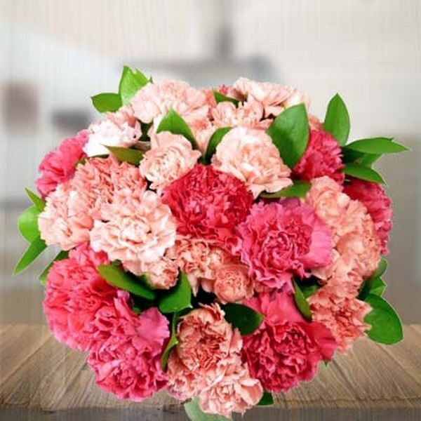 Bouquet of 18 Carnations