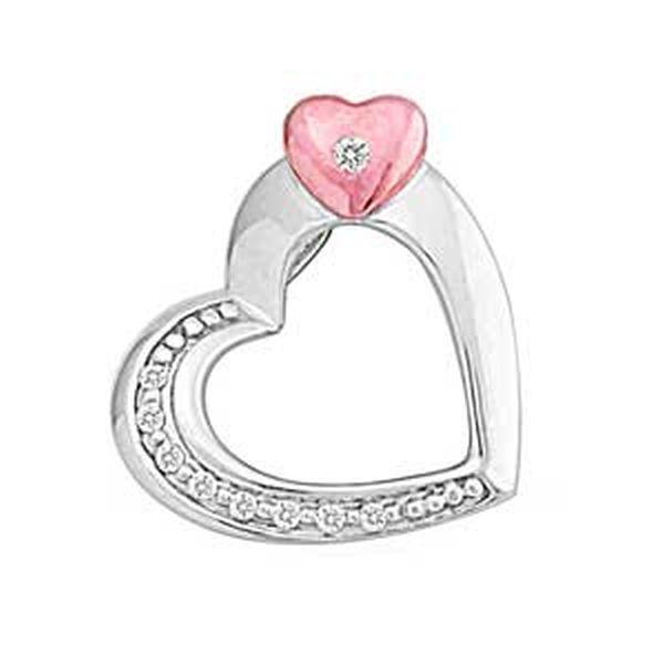 Attached Diamond Pendant